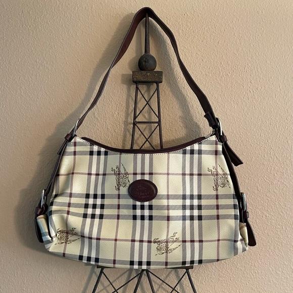 Vintage Burberry of London shoulder bag